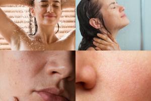 Tại sao bạn không nên rửa mặt khi tắm?