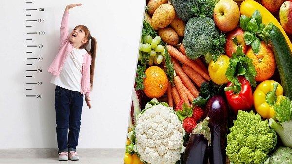 Điểm danh những thực phẩm giúp trẻ cao lớn mỗi ngày