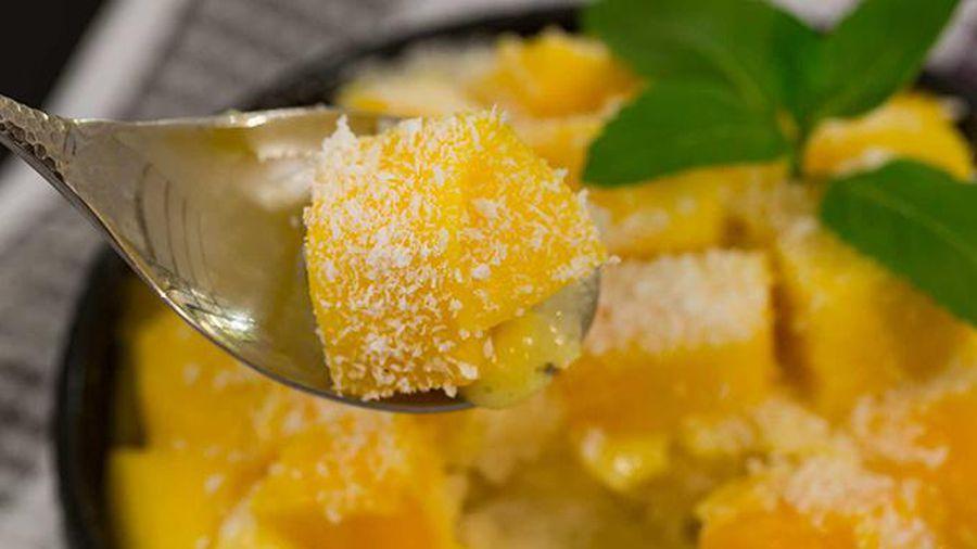Giải nhiệt ngày hè với món xoài đá bào ngọt thanh, thơm mát chỉ trong 5 phút