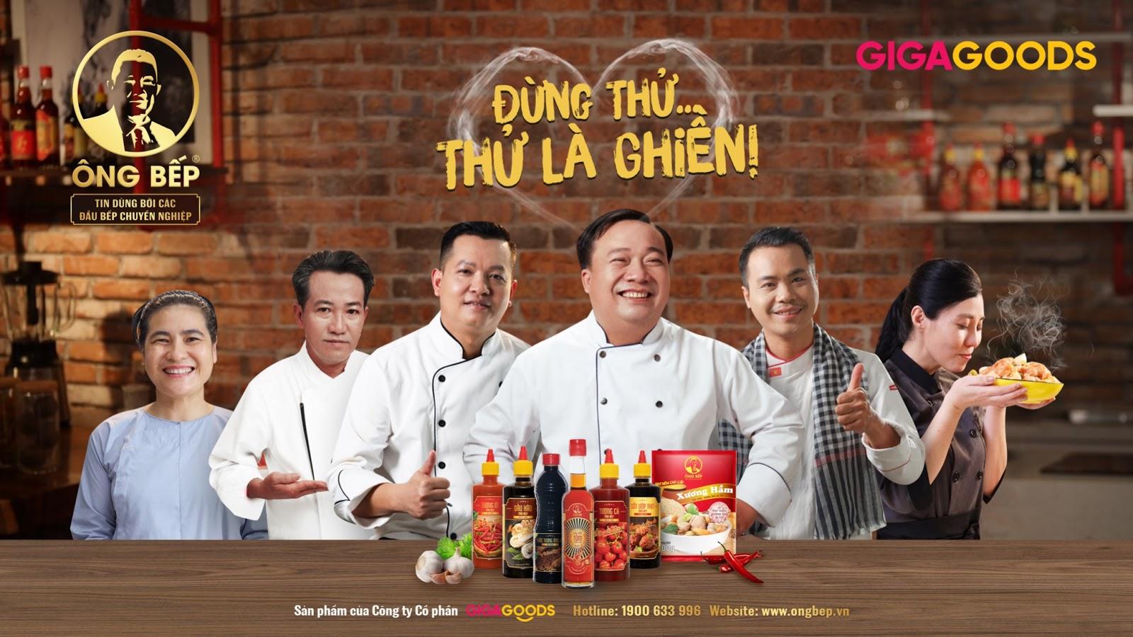 Giga1 trở thành đối tác chiến lược của Ông Bếp - Nhãn hàng gia vị '100% made in Việt Nam'